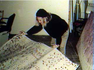 brigidlayingcarpet